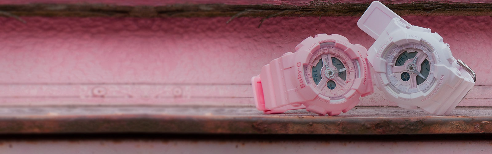 The new watches from BABY-G